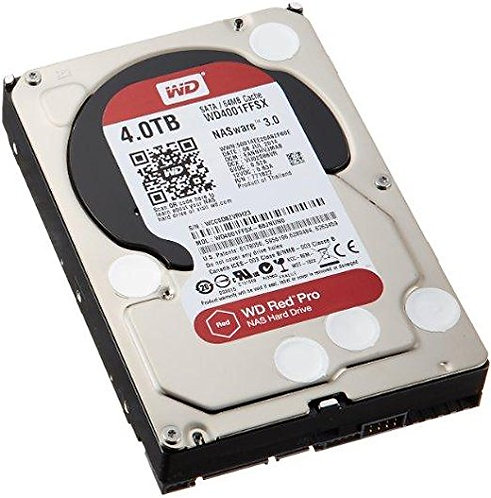 WD4001FFSX Red Pro 4 Tb 3.5 Internal Hard Drive 7200 Rpm
