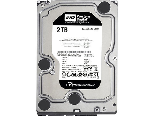 WD2003FZEX WD Black 2TB Performance Desktop Hard Disk Drive