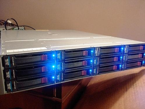 HP MSA60 Enclosure with 36TB Storage