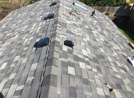 Shiny new roof!
