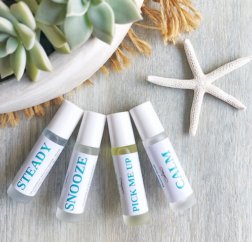 Essential Oil Blends 10ml Roll-on