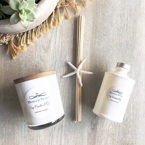Large Soy Candle Christmas Gift Pack