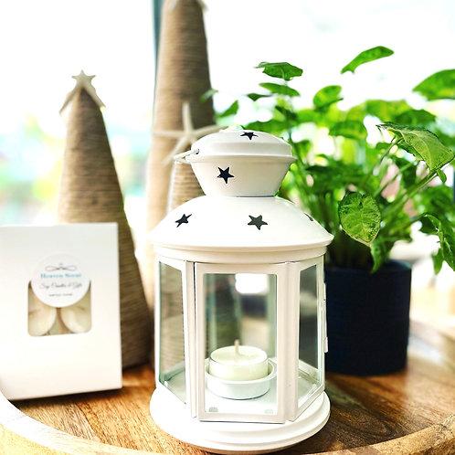 Hanging Lantern White