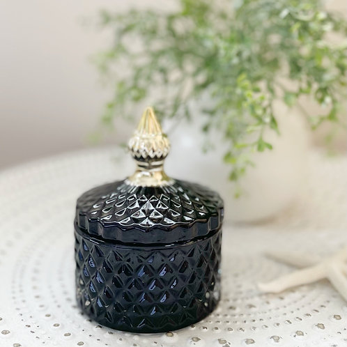 Diana Small Soy Candle Black