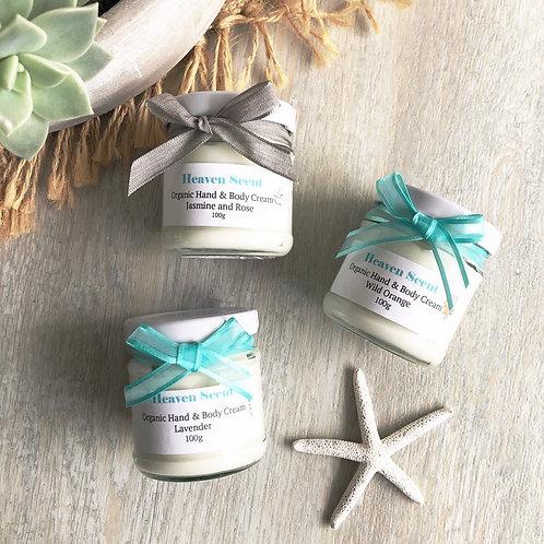 Organic Hand & Body Cream