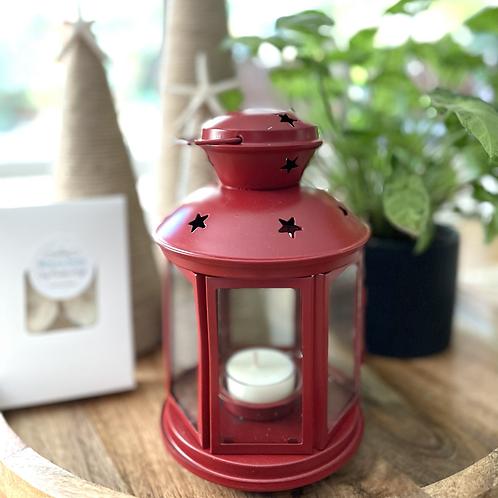 Hanging Lantern Red