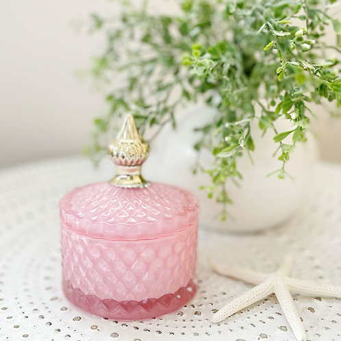 Diana Small Soy Candle Pink