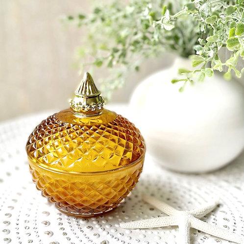 Diana Globe Soy Candle ( Amber)