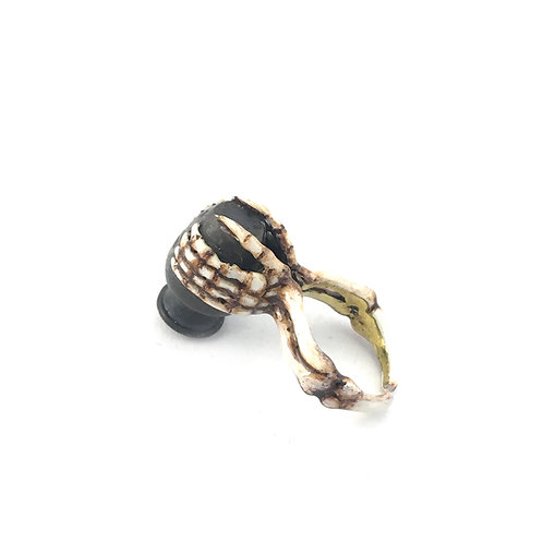 Aquarius Water Bearer Zodiac ring Realistic