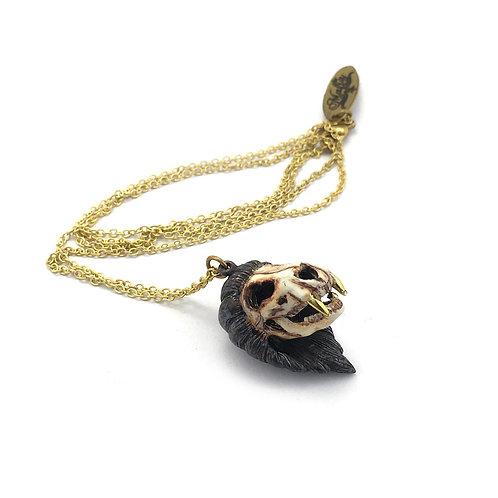 Lion skull is for Leo Realistic  Zodiac pendant