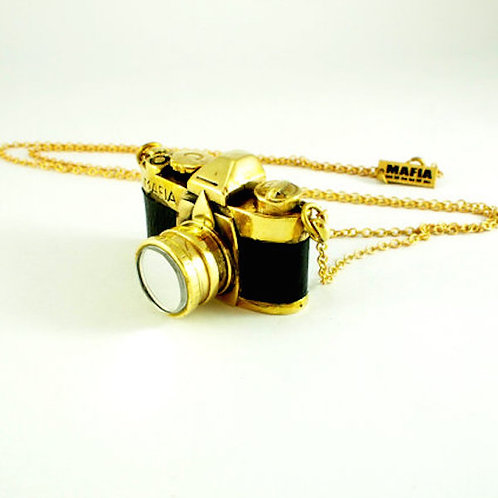 Brass FM2 Camera pendant