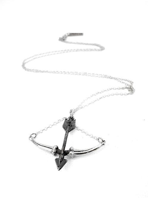 Archer bone SagittariusZodiac pendant