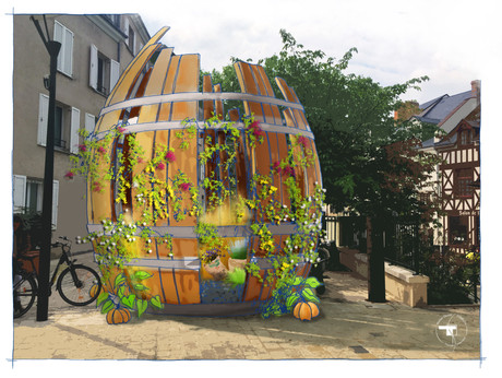 Jardins éphémères 2021, Orléans (45)