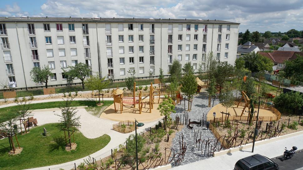 Jardin des Jacobins, Orléans (45)