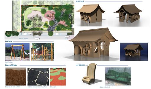 Détails des matériaux et constructions