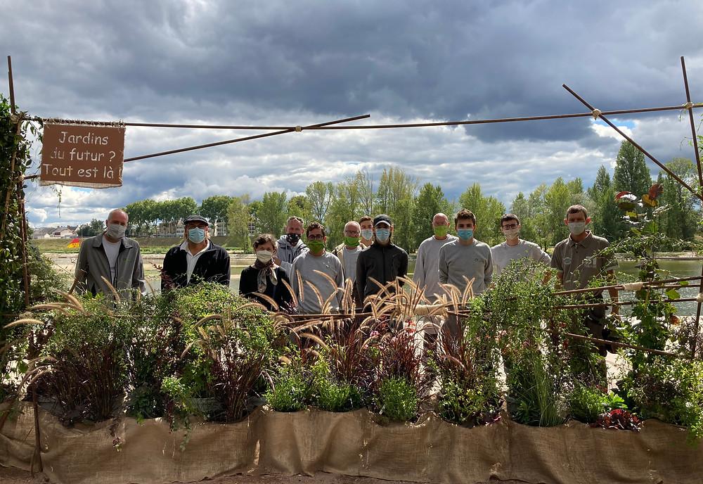 Entreprise J. Richard ; Atelier Olivier Striblen SAS ; Javoy plantes ; École d'horticulture de la Mouillère