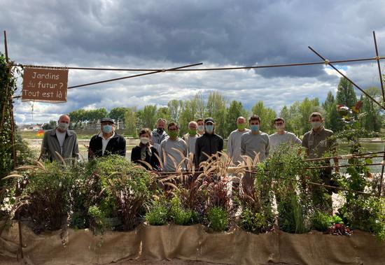 L'équipe des Jardins éphémères 2020