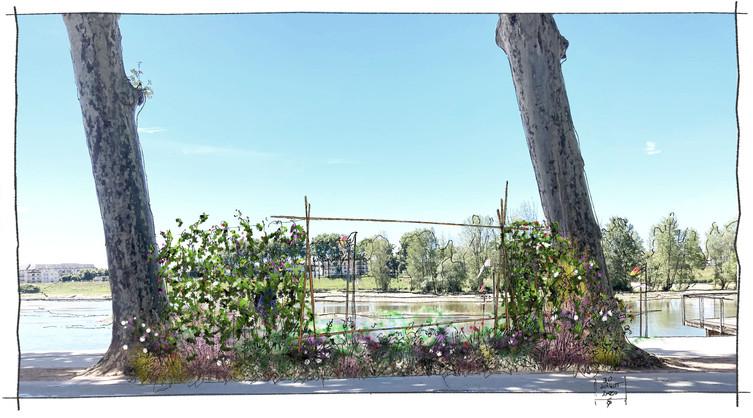Croquis des Jardins Éphémères 2020