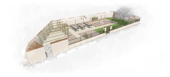 Maquette Jardin Pédagogique Olivier Striblen