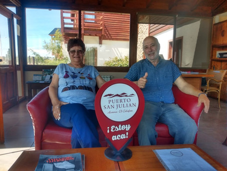 Fin de la visita en El Calafate !!!