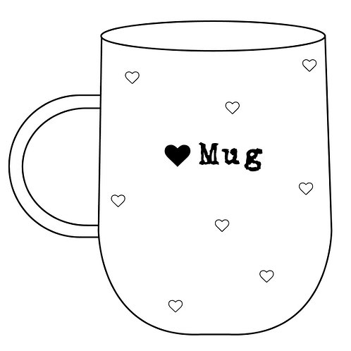 Heart Mug Pre-order
