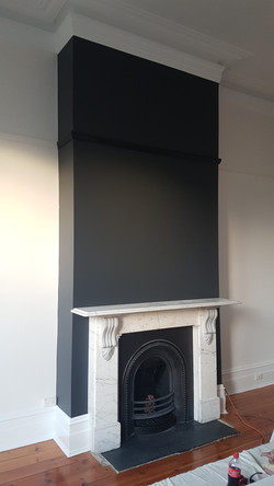 Feature Wall - Fireplace
