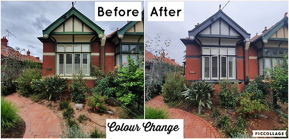 Before & After - Avoca - Elwood - Front