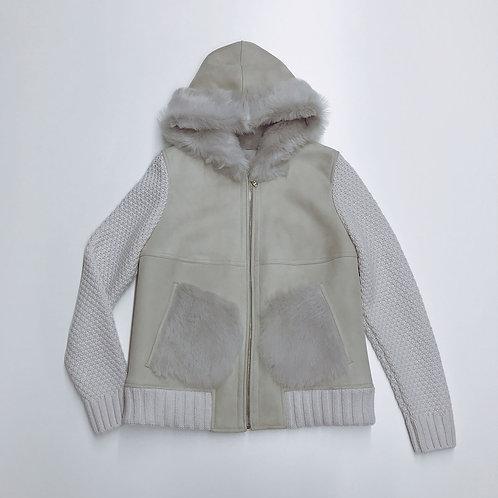 My Jacket / Fluffy Mouton Bomber Jacket