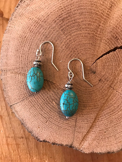 SOLD - Turquoise earrings
