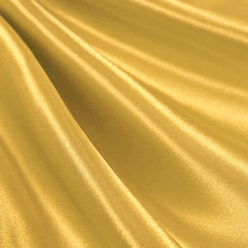 Gold Bridal Satin Pillowcase