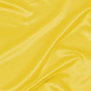 Yellow Bridal Satin Pillowcase