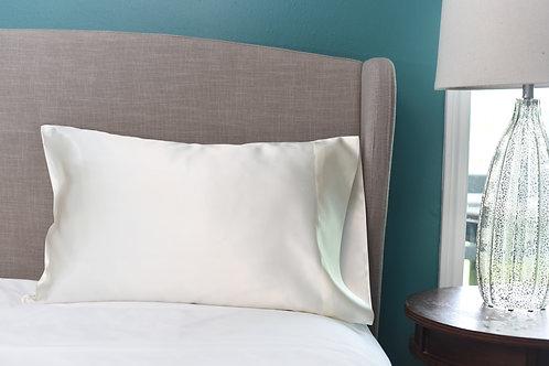 Ivory Bridal Satin Pillowcase