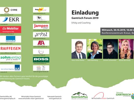 Gantrisch Forum 2019 vom 30.10.2019