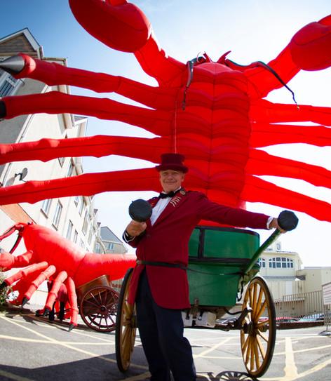 Lobster à la Cart-Porthcawl Carnival.