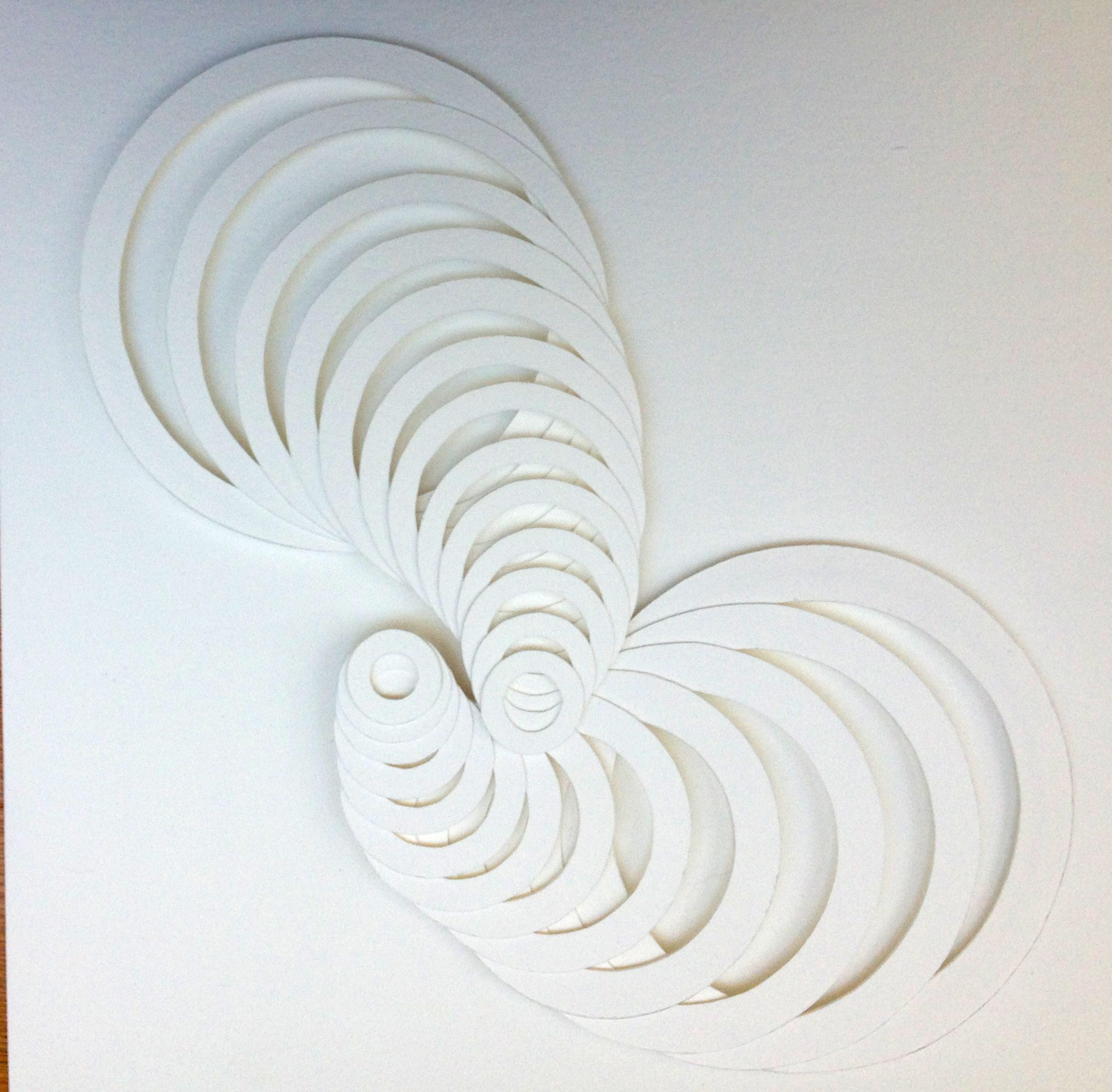 Expanding Circles 52 x 52cms