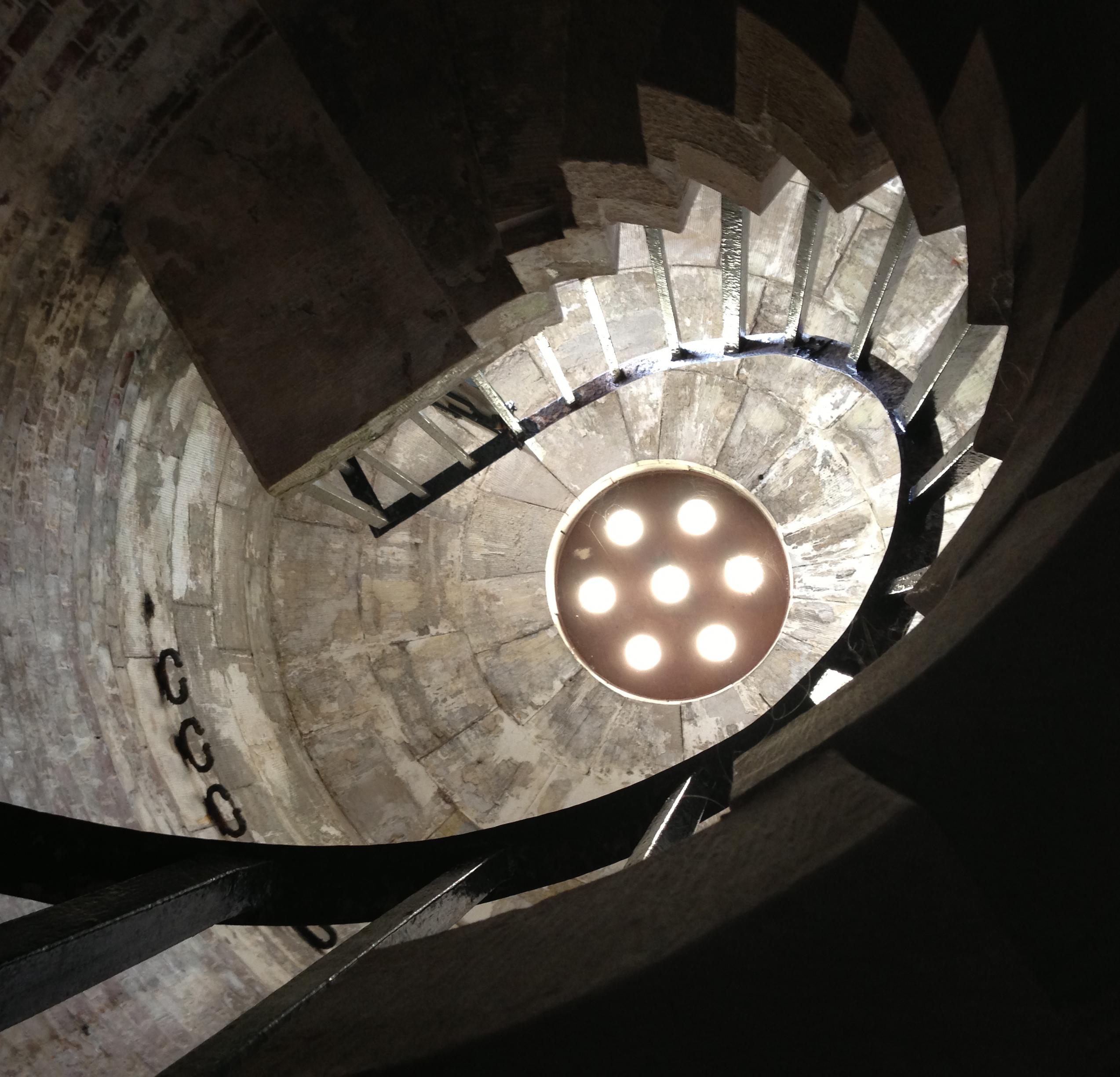 Hurst Castle Spiral