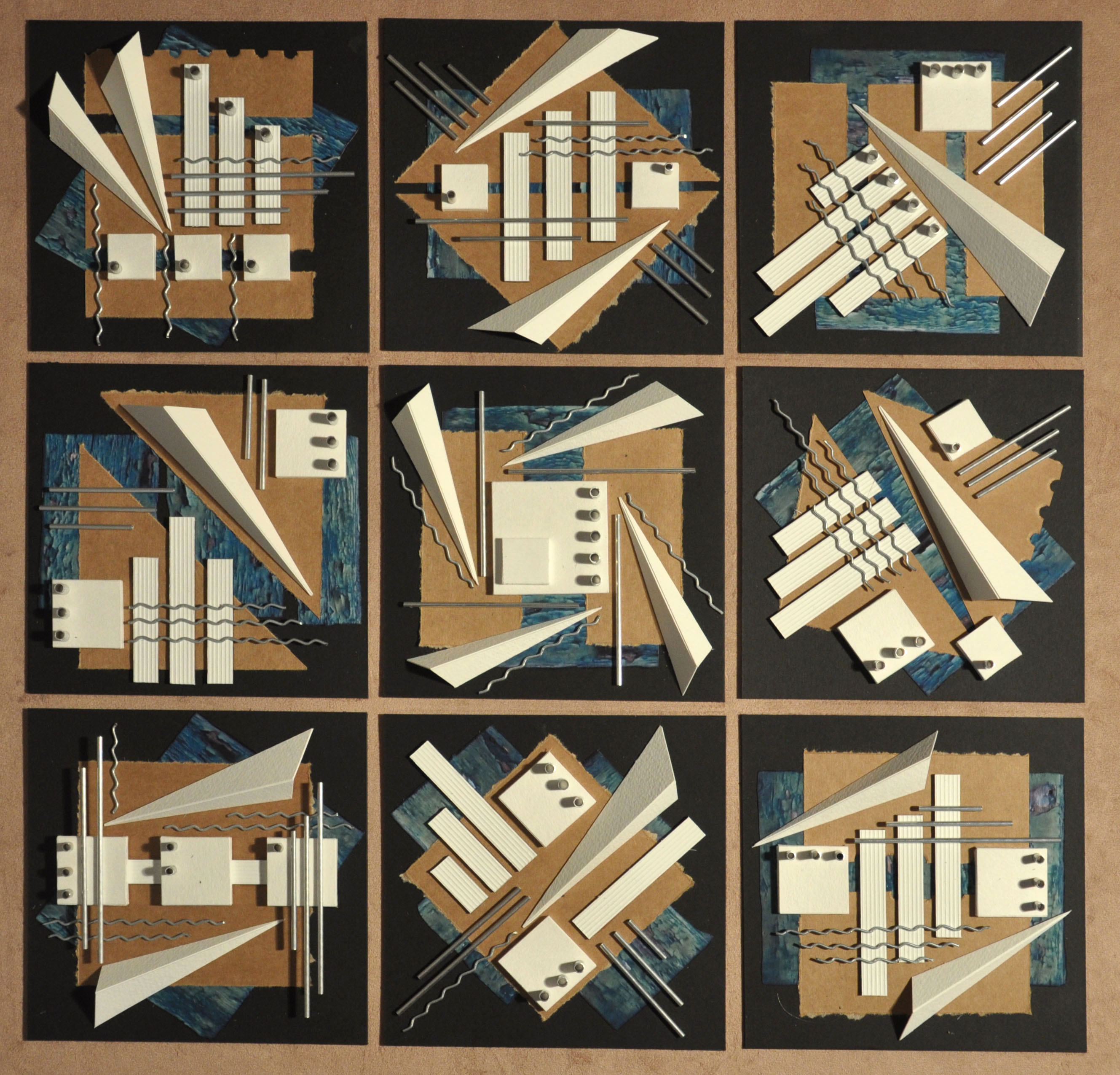 Abstract nine    60 x 60cms