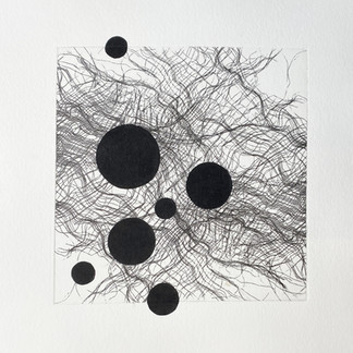 Scrim with Dots