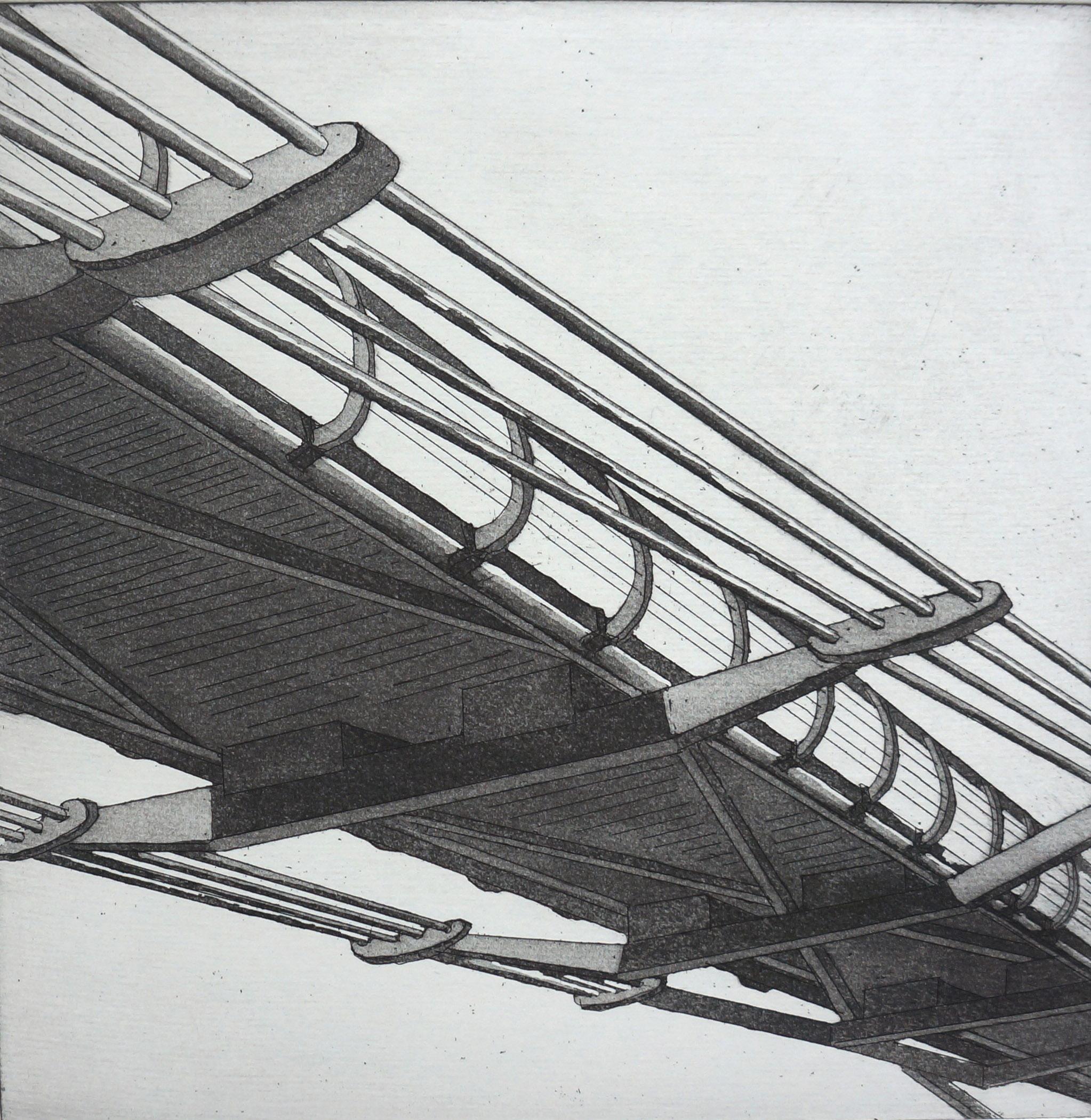 Millennium Bridge  32 x 32 cms