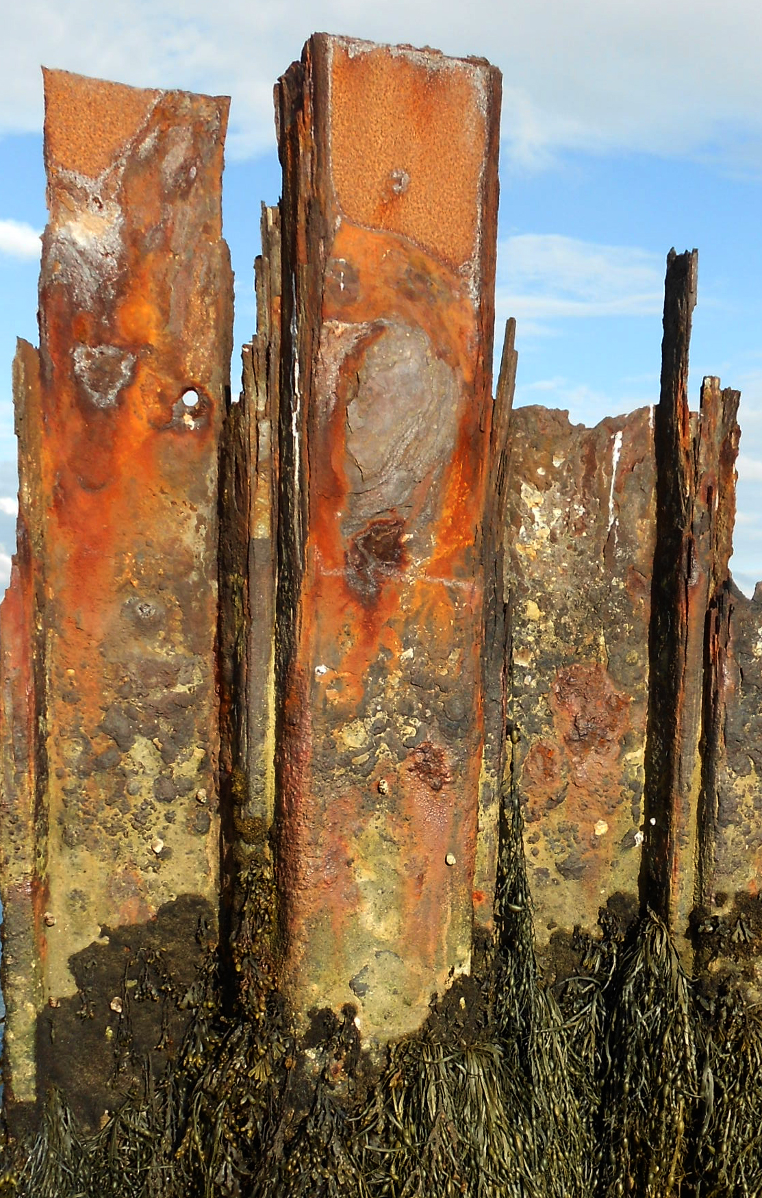 Lymington metal texture