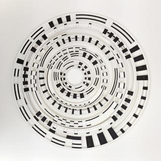 Black and White Circles 2