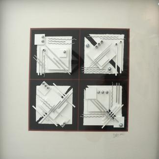 Four White Squares
