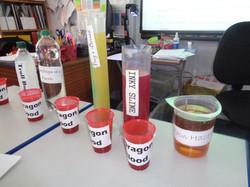 Making potions - Maths capacity