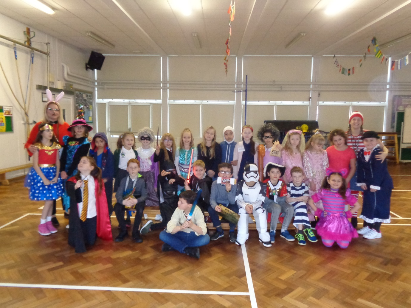 4C World Book Day