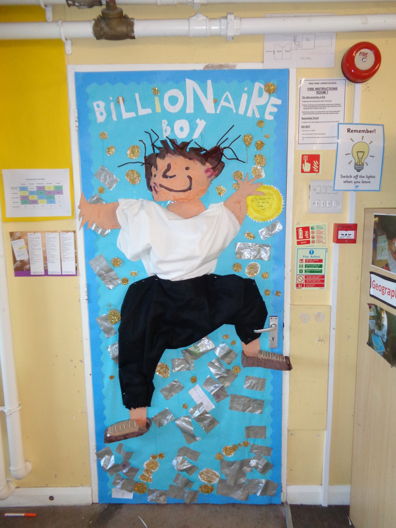 Billionaire Boy Door