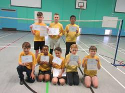 Badminton contest