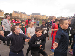 Sports relief excercise