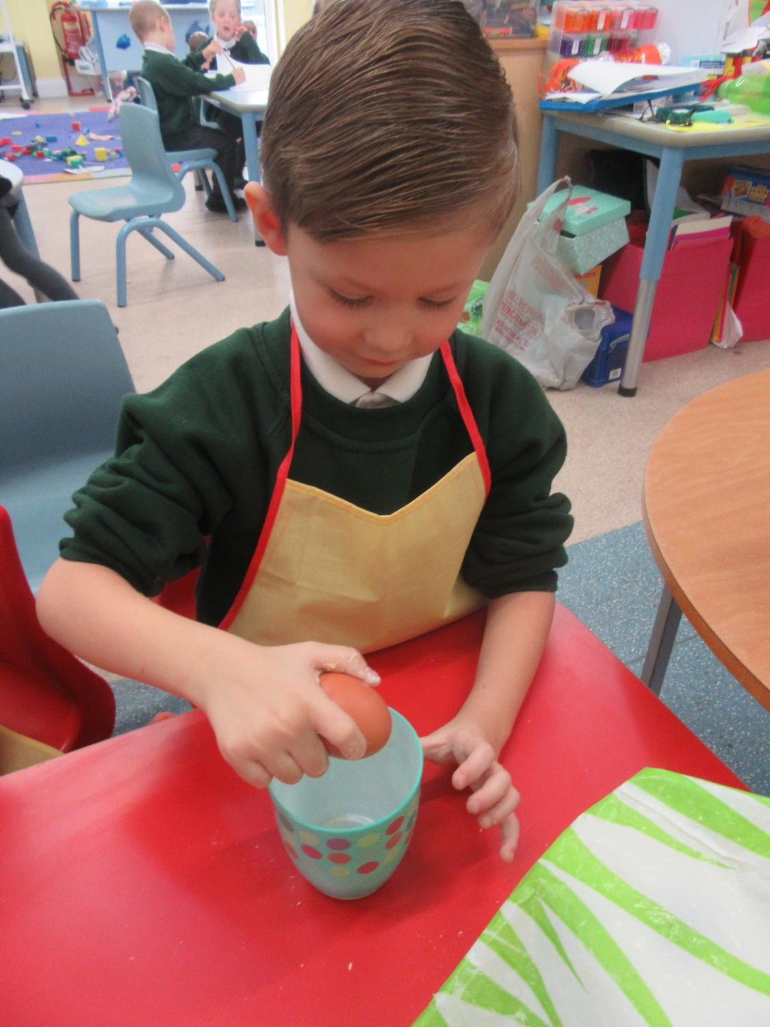 Cooking in Early Years