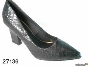 Zapato de vestir de snake color negro (27136)