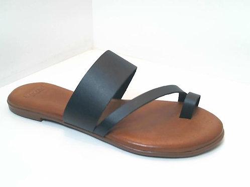 Sandalia de vaq. color negro (32528)